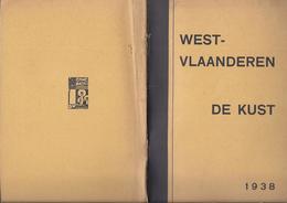 1938 WEST - VLAANDEREN DE KUST ROESELARE TIELT DIKSMUIDE VEURNE DE HAAN WENDUINE PUBLICITEIT ZEDENADEL  ... - Antiguos