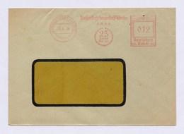 Umschlag AFS - SCHWARZENBERG, Wasserstoff Sauerstoff Werke GmbH - 25 Jahre - 23.4.36 (03) - Wissenschaften