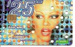 PAMELA ANDERSON Actrice Film Femme Girl  Cinéma Télécarte Pays-bas Phonecard (G 175) - Cinéma