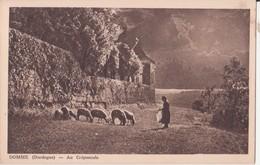 CPA - DOMME Au Crépuscule - France