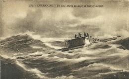 ( BATEAU DE GUERRE ) ( MILITAIRES ) ( FRANCE )( SOUS MARIN   )( CHERBOURG    )( 50 MANCHE) - Sous-marins