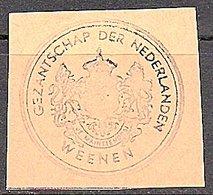 Gezantschap Der Nederlanden WEENEN Österreich (531) - 1891-1948 (Wilhelmine)