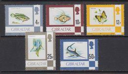 """Gibraltar 1981 Definitives 5v """"1981"""" ** Mnh (42901E) - Gibraltar"""