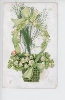 Corbeille De Muguet - Collage Relief, Végétaux - Cartoline Con Meccanismi