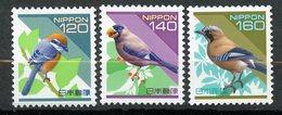 Japan, Yvert 2417/2419, MNH - 1989-... Empereur Akihito (Ere Heisei)