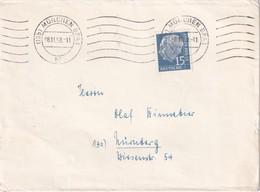 BUND 1958 LETTRE DE MÜNCHEN - BRD