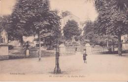 CPA - 48. CAHORS (Lot) - Jardin Public - Cahors
