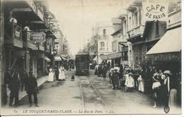 Le Touquet - Paris Plage -La Rue De Paris - Le Touquet