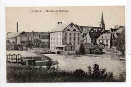 - CPA LA SUZE (72) - Moulin Et Barrage - - La Suze Sur Sarthe