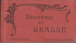 CARNET Incomplet De 20 Cartes Postales Anciennes De GRASSE. - Grasse