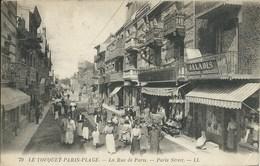 Le Touquet - Paris Plage - La Rue De Paris - Paris Street - Le Touquet