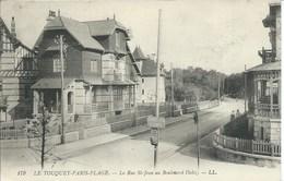 Le Touquet - Paris Plage - La Rue Saint Jean Au Boulevard Dalloz - Le Touquet