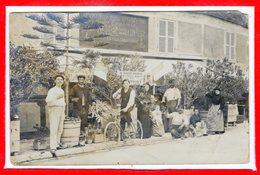 CARTE PHOTO à IDENTIFIER -- Au Rendez Vous De La Marine - état - Cartes Postales