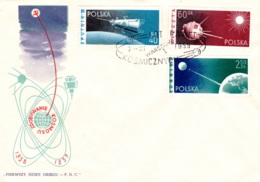 Raumfahrt, Polen - Briefe U. Dokumente