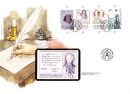 1984 Stockholmia 86. International Stamp Exhibition,FDC - Briefmarkenausstellungen