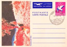 1987 Luftpostkarte - Ganzsachen