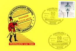1983- 75 Jahre Mönckebergstraße - Post