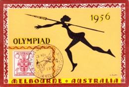 Olympia, Karte - Sommer 1956: Melbourne