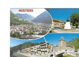 73 MOUTIERS Cpm Multivues - Moutiers