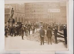 NEW YORK USA JEAN A JUSSERAND UNION SQUARE LAFAYETTE  FÊTE DE JEANNE D'ARC  25*20 CM Fonds Victor FORBIN 1864-1947 - Lugares