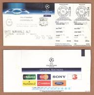 AC - GALATASARAY SKv LIVERPOOL FC CHAMPIONS LEAGUE 05 DECEMBER 2006 FOOTBALL - SOCCER TICKET - Match Tickets