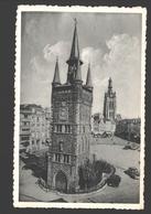 Kortrijk - Belfort, Grote Markt En St-Maartenskerk - Nels Photothill - 1954 - Kortrijk