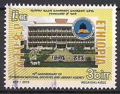 Äthiopien  (2015)  Gest. / Used  (10bc28) - Äthiopien