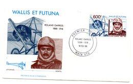 Sobre De Primer Dia Wallis Et Futuna. A-160. - FDC