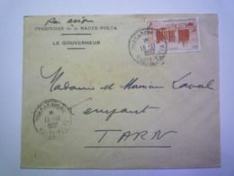 GP 2019 - 1348  Enveloppe Au Départ De OUAGADOUGOU (Gouverneur) à Destination De LEMPAUT  1950 XXX - Storia Postale