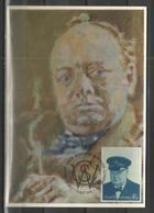 "GREAT BRITAIN 1974 ""Sir Winston Churchill"" Maximum Card!!! (No2) - Carte Massime"
