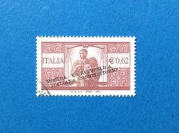 2003 ITALIA FRANCOBOLLO USATO STAMP USED MOSTRA MONTECITORIO - 6. 1946-.. Repubblica