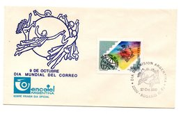 Sobre De Primer Dia  Upu Argentina - UPU (Union Postale Universelle)