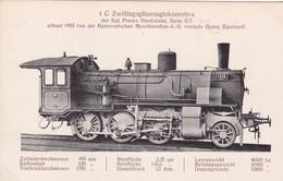 Zwillingsgüterzuglokomotive Der Kgl.Preuss.Staatsbahn Serie G5.1903 - Trains