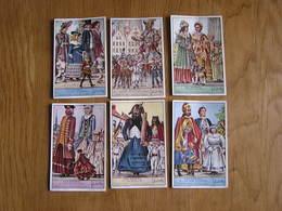LIEBIG Les Géants Folklore Ath Nivelles Grammont Malines Anvers Bruxelles Série De 6 Chromos Trading Cards Chromo - Liebig