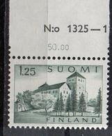 PIA -  FINLANDIA -  1963  :  Castello Di Turku - Nuova Moneta  -  (Yv  545A) - Finlandia