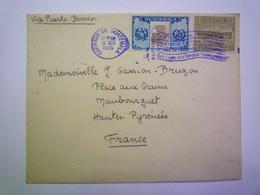 GP 2019 - 1353  Enveloppe Au Départ De GUATEMALA-CITY à Destination De MAUBOURGUET  1936  XXX - Guatemala