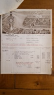 FACTURE ET LETTRE DE CHANGE 1930 LEFEVRE UTILE BISCUITS LU A NANTES - 1900 – 1949