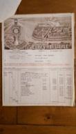 FACTURE ET LETTRE DE CHANGE 1930 LEFEVRE UTILE BISCUITS LU NANTES - 1900 – 1949