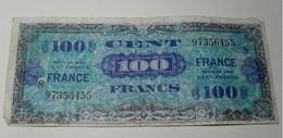 1944 - France - 100 FRANCS, Impression Américaine, Série 8 - 97356455 - Frankrijk