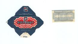 Lame De Rasoir Allemande ROTBART Type 3  - German Safety Razor Blade Wrapper Type 3 - Lames De Rasoir