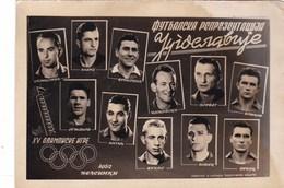 XV Olympic Games 1952 G - Helsinki - Football Team Yugoslavia - Sporten