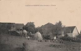 RARE - Chêne En Semine  - Fénens - Scan Recto-verso - Autres Communes