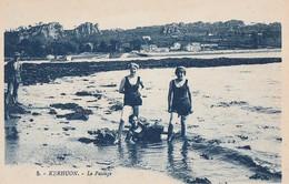 KERHUON  - Le Passage        Carte Rare  -  Baigneuses Beau Plan - Other Municipalities