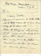 Marie-Berthe De Rohan, Duchesse De MADRID (1868-1945) LAS 1933 AUTOGRAPHE AUTOGRAPH /FREE SHIP. R - Autogramme & Autographen