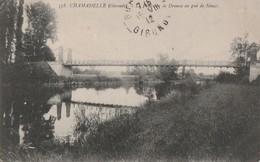 CHAMADELLE  - Le Pont Sur La Dronne Au Gué De Sénac.   Pas Courante - France