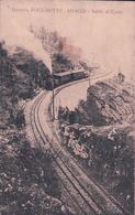 Italie, Ferrovia Rocchette - Asiago, Chemin De Fer Et Train à Vapeur, Censura (30.1.1917) Tachée - Italia
