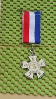Medaille / Medal - Wandelsport Organisatie Nederland K.N.B.L.O, Nr: 3 -  The Netherlands - Nederland