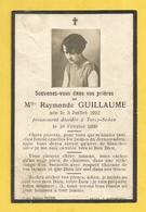 CARTE MEMOIRE MORTUAIRE GENEALOGIE FAIRE PART DECES  TORCY SEDAN GUILLAUNE 1930 - Décès
