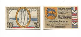 DANEMARK / DENMARK -  AUGUSTENBURG / 50 PFENNIG 1920 - Danimarca