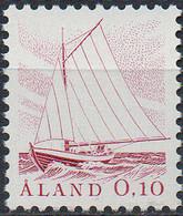 PIA - ALA - 1985 - Uso Corrente - Battello Da Pesca - (Yv 8-9) - Aland